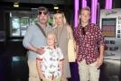 Aleš Háma s rodinou.