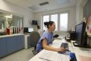 Jednotka intenzivní péče v Nymburce.
