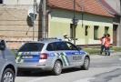 Policie zasahující na Hodonínsku.