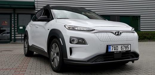Kompaktní SUV Hyundai KONA Electric.