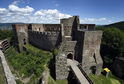 Středověký hrad Helfštýn.