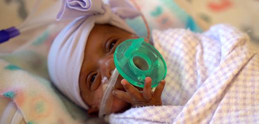 Děťátko dostalo jméno Saybie.