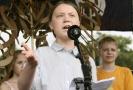 Šestnáctiletá švédská ekologická aktivistka Greta Thunbergová.