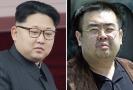 Kim Čong-nam (vpravo), bratr severokorejského vůdce Kim Čong-una.