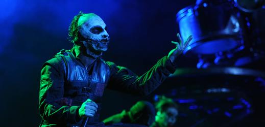 Z vystoupení kapely Slipknot.