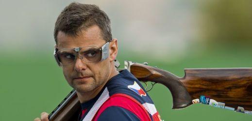 Sportovní střelec David Kostelecký.