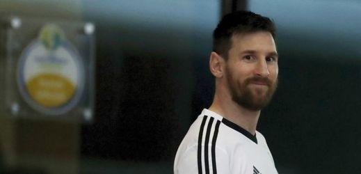 Argentinský fotbalista Lionel Messi.