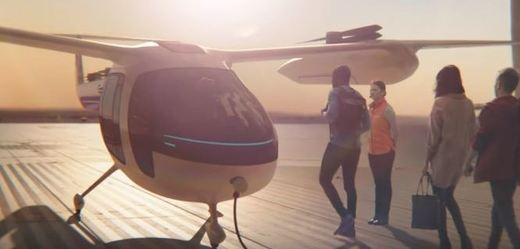 Takhle by mohla vypadat helikoptéra společnosti Uber.