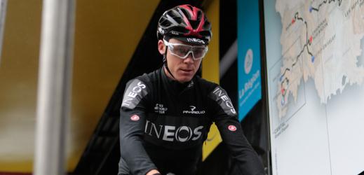 Čtyřnásobný vítěz Tour de France Chris Froome.