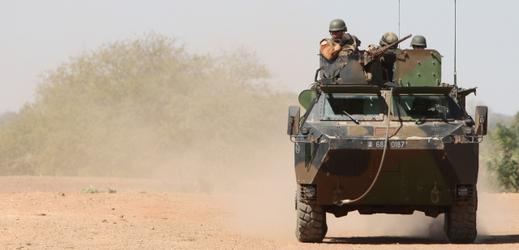 Francouzští vojáci v Mali.