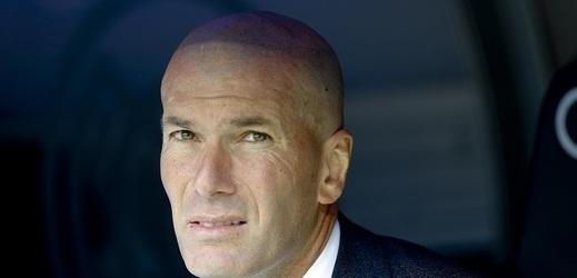 Trenér Realu Zinédine Zidane (ilustrační foto).