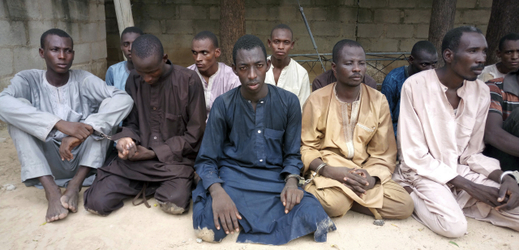 Zatčení radikálové z organizace Boko Haram v Nigérii.
