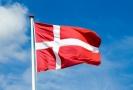 Dánská vlajka.
