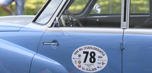 Historická vozidla se shromáždila 12. června 2019 v pražské Opletalově ulici, odkud odstartovala k závodu 1000 mil československých.
