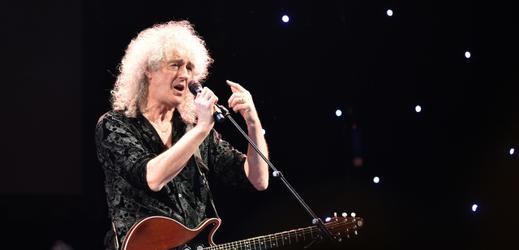 Kytarista skupiny Queen Brian May.