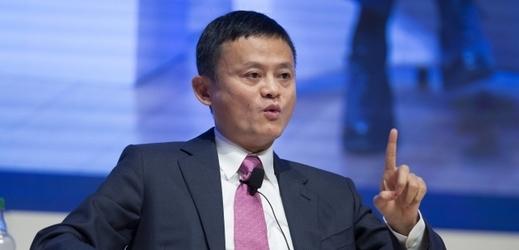 Jack Ma, zakladatel internetového obchodu ALIBABA.