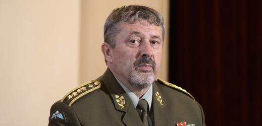 Náčelník Generálního štábu Armády ČR Aleš Opata vystoupil 13. června 2019 v Praze na Žofínském fóru.