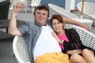 Pavel Trávníček s manželkou.