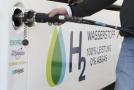Vodíková čerpací stanice.
