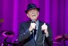 Kanadský zpěvák Leonard Cohen.