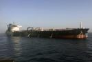 Jeden z poškozených tankerů.
