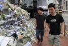 Dvaadvacetiletý Joshua Wong (vlevo).