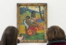 Výstava obrazů Paula Gauguina.