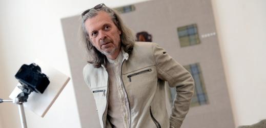 Výtvarník Jiří David.