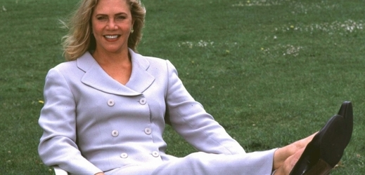 Herečka Kathleen Turnerová.