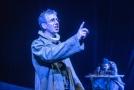 Zleva Zdeněk Kupka jako Pán a Tomáš Impseil jako Jakub na zkoušce komedie Jakub a jeho pán od Milana Kundery 18. června 2019 v libereckém Divadle F. X. Šaldy. Představení má premiéru 21. června.