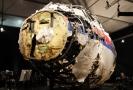 Část malajsijského letounu sestřeleného v létě 2014.