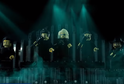 Snímek z Eurovize vytvořené z lega.