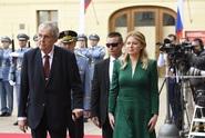 Bez konfliktních témat. Čaputová pozvala Zemana do Bratislavy
