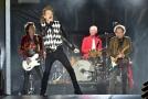 Britská rocková kapela The Rolling Stones.