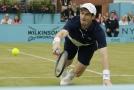 Andy Murray slavil při návratu na kurty triumf ve čtyřhře. Pomýšlí už na singla.