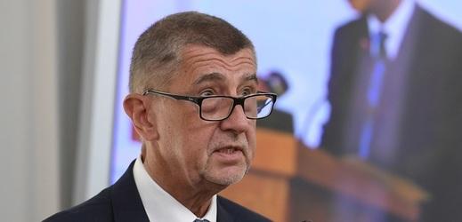 Český premiér Andrej Babiš na zahájení Konference ekonomických diplomatů 2019.