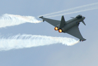 Letoun Eurofighter.