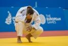Lukáši Krpálkovi unikla bronzová medaile z Evropských her.