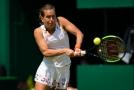 Barbora Strýcová na turnaji v Birminghamu.