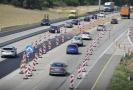 Situace na dálnici D1 směrem do Brna.