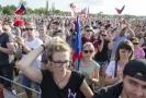 Demonstrace za nezávislost justice a lepší vládu, kterou uspořádala 23. června 2019 v Praze iniciativa Milion chvilek pro demokracii.