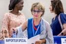 Zvláštní zpravodajka OSN pro mimosoudní a svévolné popravy Agnès Callamardová.