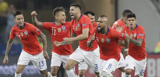 Fotbalisté Chile.