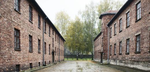 Koncentrační tábor v Osvětimi.