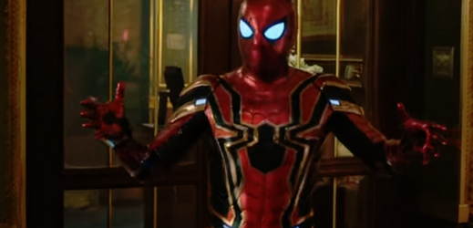 Snímek z filmu Spider-Man: Daleko od domova.