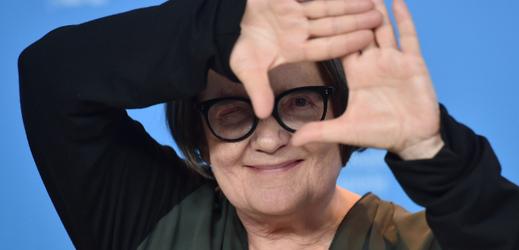 Režisérka Agnieszka Hollandová.