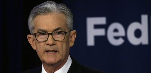Šéf americké centrální banky Jerome Powell.