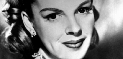 Herečka Judy Garlandová.