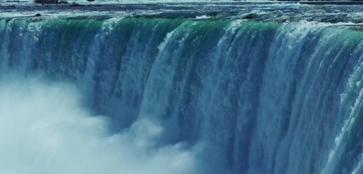 Niagárské vodopády.