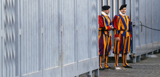 Vatikánská stráž.